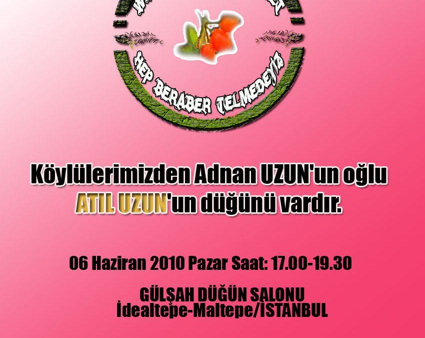 Adnan UZUN'un oğlu Atıl UZUN'un Düğün Merasimi-06.06.2010 Pazar