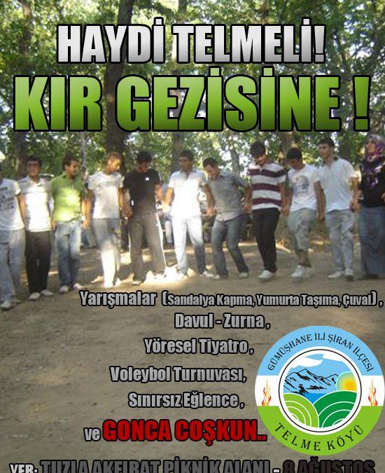 Kır Gezisi: 8 Ağustos 2010